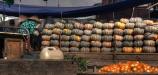 Calabazas en el mercado de Cai Rang