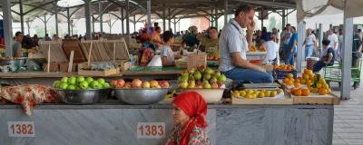 Zona de frutas en Chorsu Market