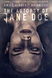 poster La autopsia de Jane Doe