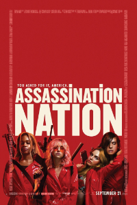 poster Assassination Nation (Nación salvaje)