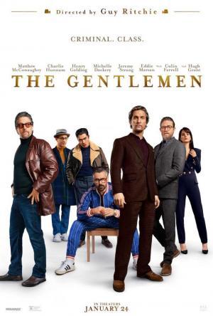 poster The Gentlemen. Los señores de la mafia