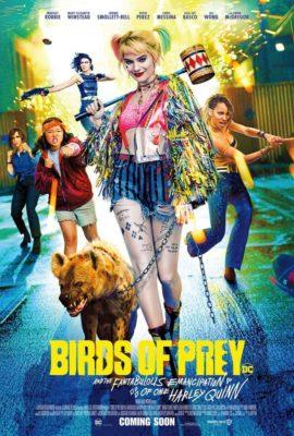 poster Aves de presa (y la fantabulosa emancipación de Harley Quinn)