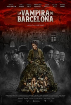 poster La vampira de Barcelona